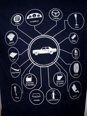 koszulka auto tajle