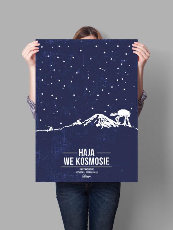 plakat haja we kosmosie