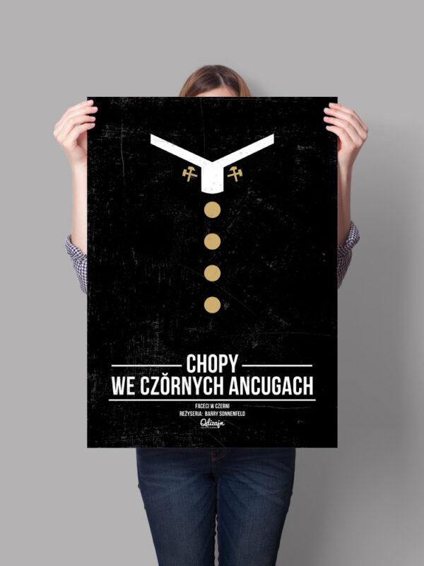 Plakat Chopy we czornych ancugach - qdizajn