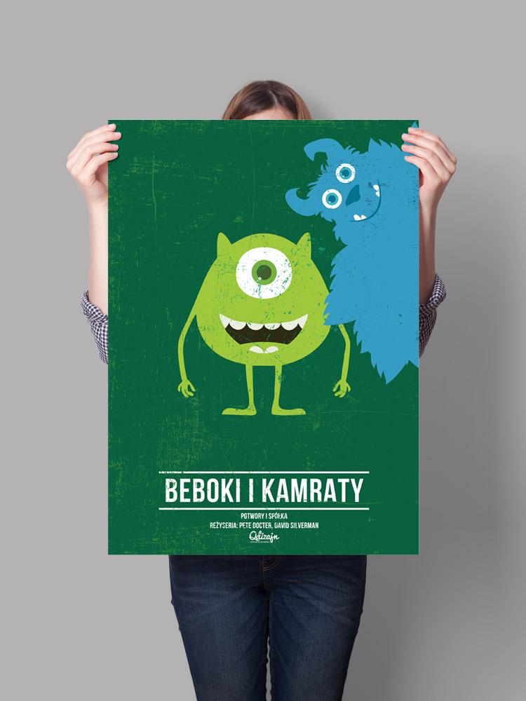 Plakat Beboki I Kamraty
