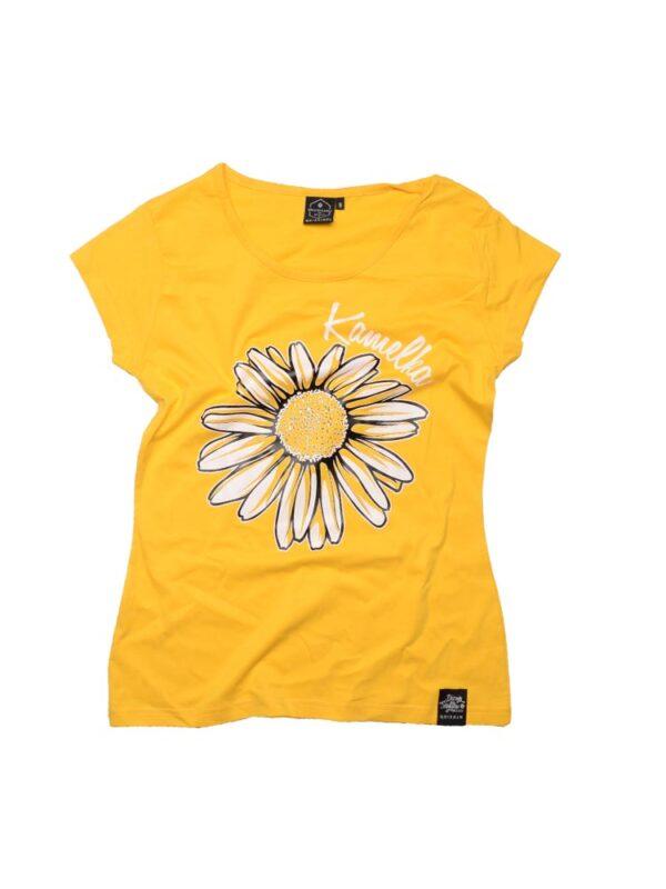 koszulka kamelka zółta