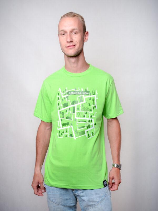 koszulka dla biegaczy lotom bo lubia śląskie koszulki qdizajn
