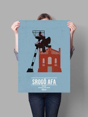 śląskie plakaty filmowe srogo afa katowice śląski sklep qdizajn