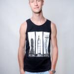 bokserka koszulka bez rękawków katowice 3 wieże