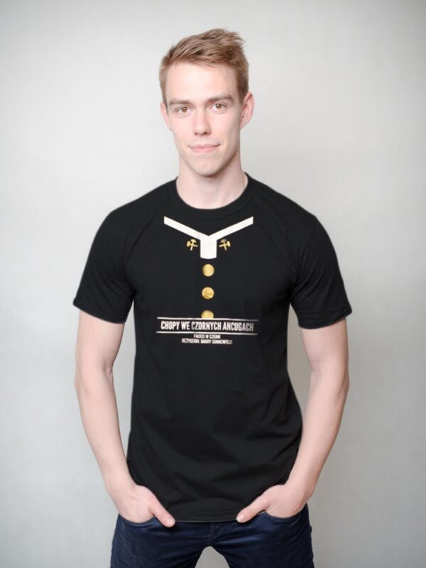 koszulka chopy we czornych ancugach czyli faceci w czerni