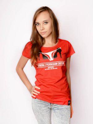 śląska koszulka kolekcja filmowa śląskich plakatów nimfomanka dzioucha z pierońskom chcicom