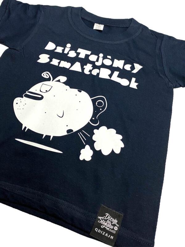 dzistajoncy szmaterlok koszulka dla dzieci