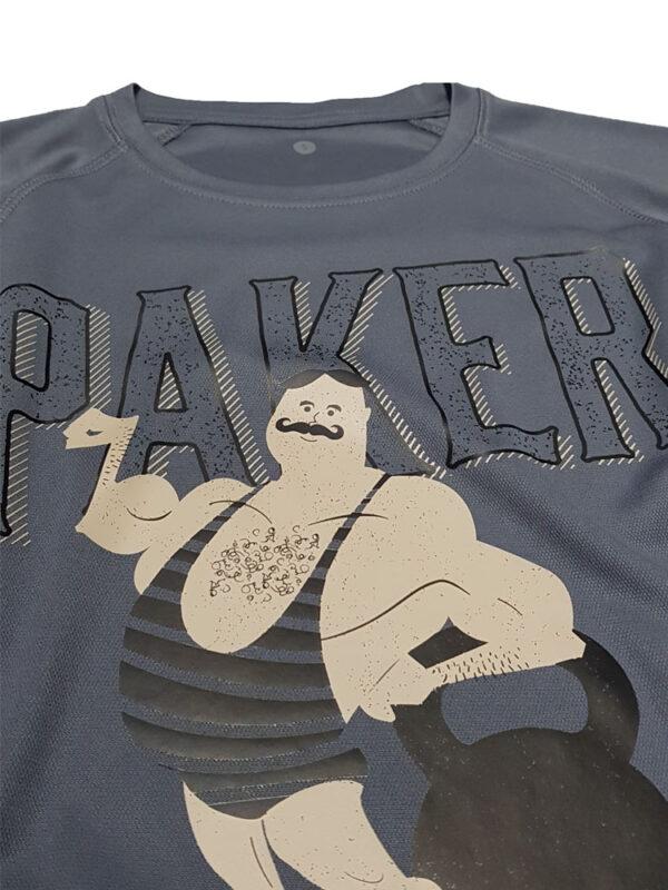 paker koszulka na siłownie crossfit
