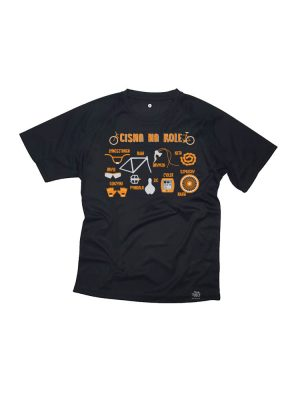 cisna na kole koszulka sportowa na rower