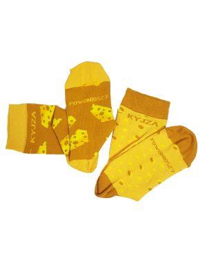 fuzekle zoki skarpetki kyjza serowe