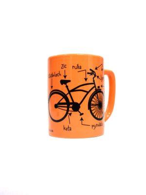 kubek, szolka cisna na kole, kubek rowerowy
