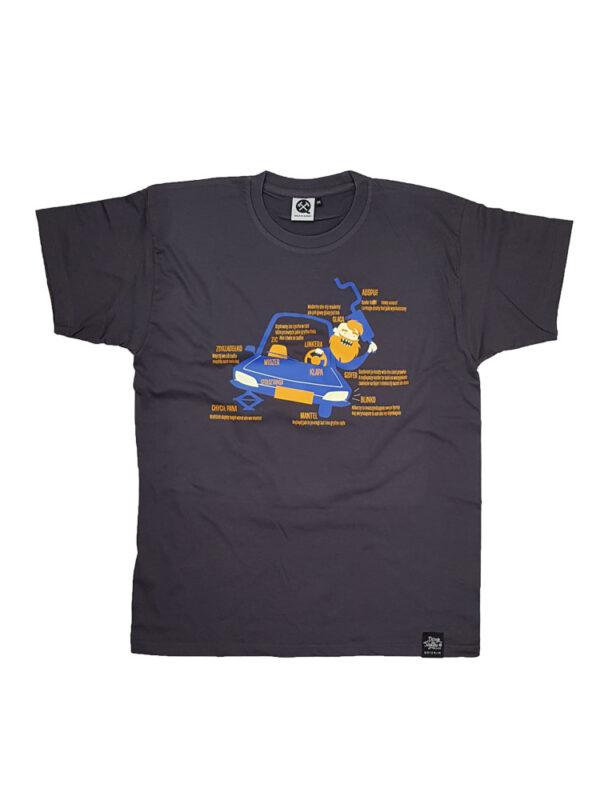auto tajle szofer, gryfne śląskie koszulki