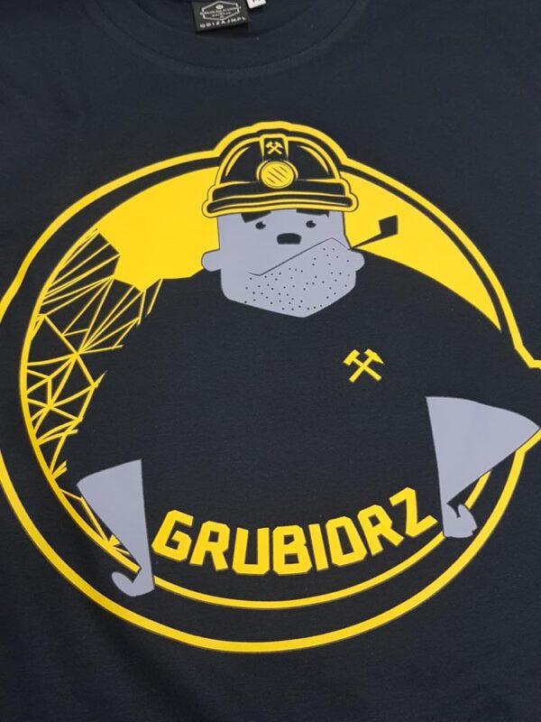 koszulka grubiorz górnik koszulka na barbórkę