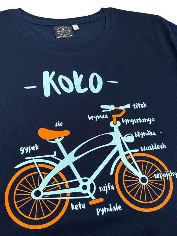 koszulka koło rower
